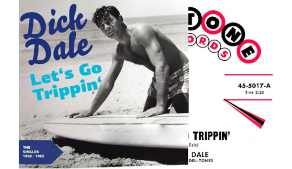 "Dick Dale – ""Let's Go Trippin'""<br>01. Rujna – 1961."