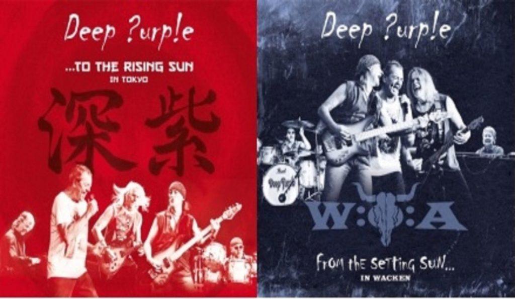 "Deep Purple – ""From The Setting Sun"" & ""To The Rising Sun""<br>Travanj – 2015."