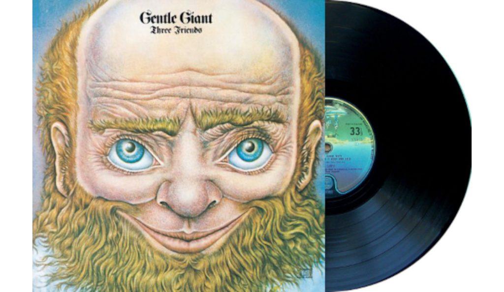 "Gentle Giant – ""Three Friends""<br>Travanj – 1972."