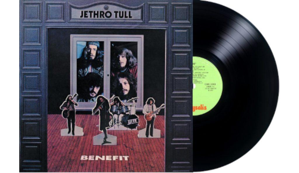 "Jethro Tull – ""Benefit""<br>Travanj – 1970."