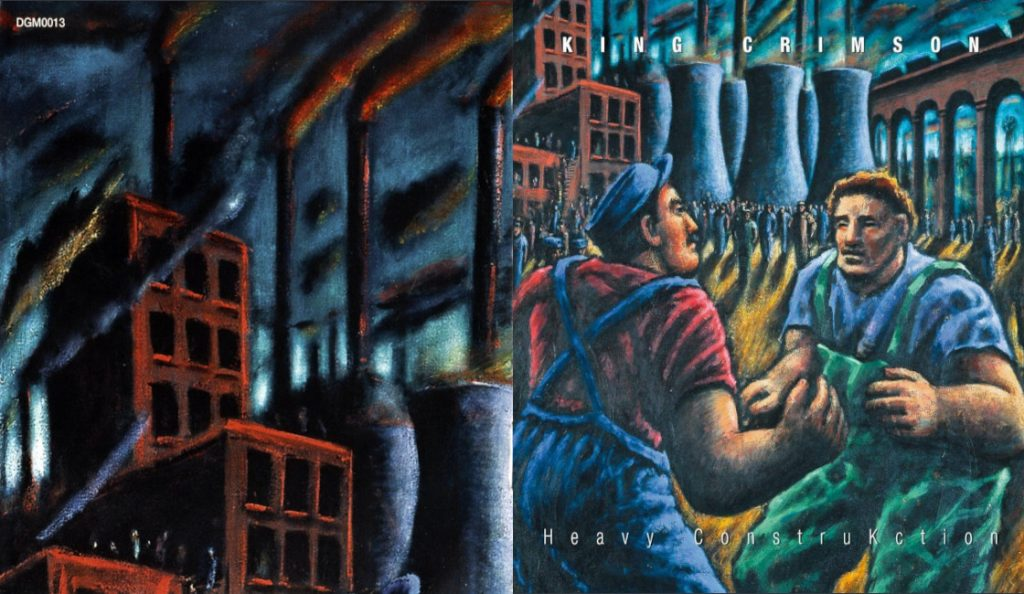 """King Crimson – """"Heavy ConstruKction (Live In Munich, June 2000)""""<br>Studeni – 2000."""