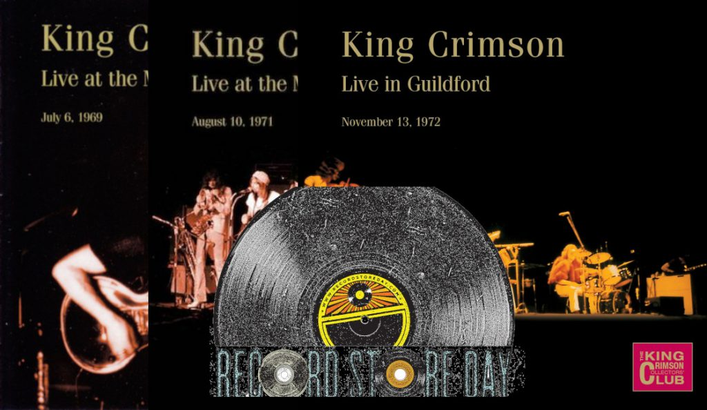 "King Crimson i ""2015 Record Store Day""<br>Travanj – 2015."