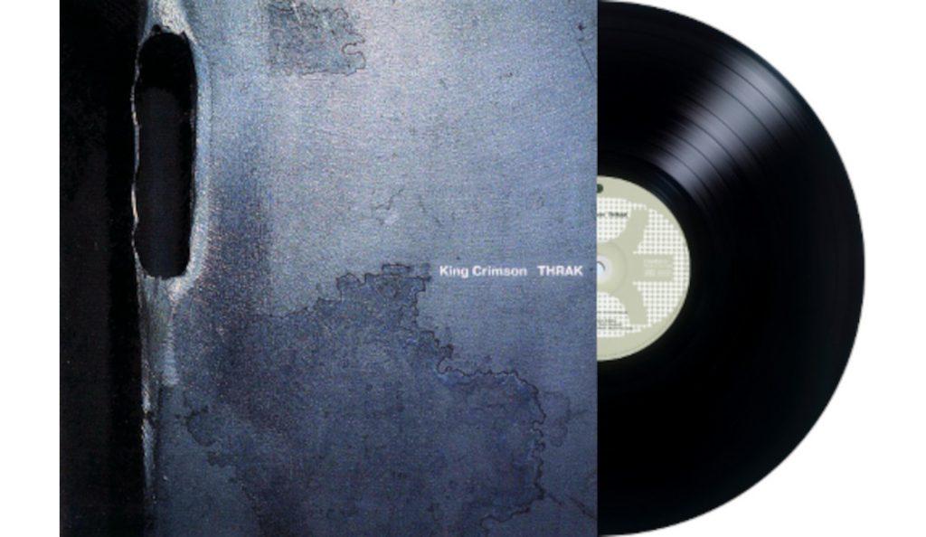 "King Crimson – ""THRAK""<br>Travanj – 1995."