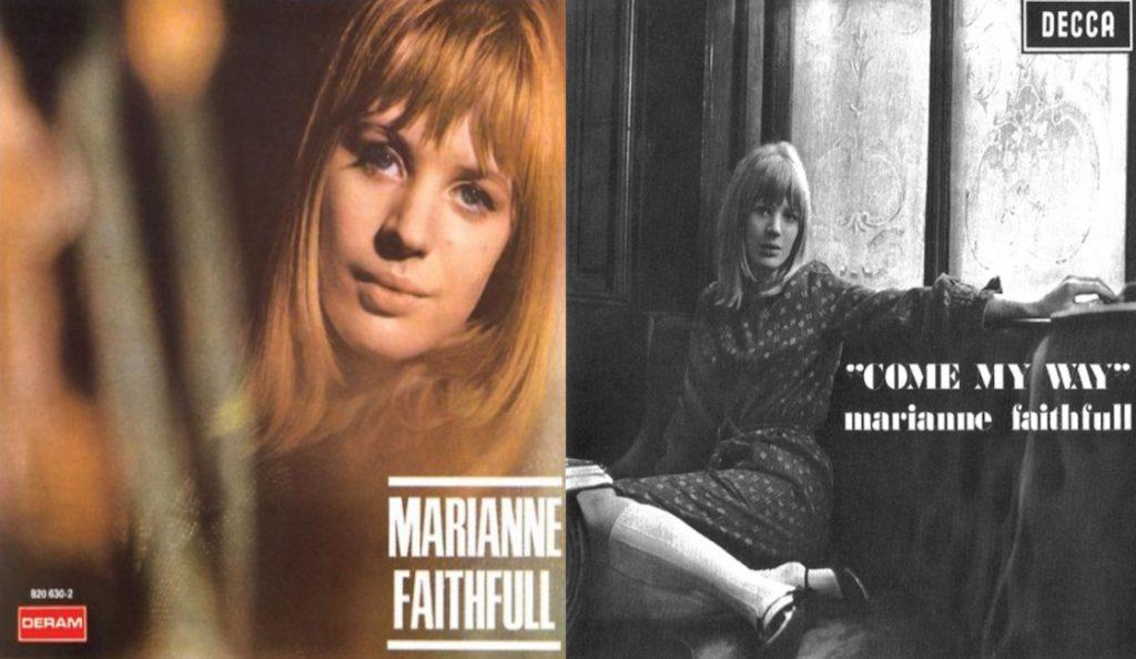 """Marianne Faithfull – """"Marianne Faithfull""""/""""Come My Way""""<br>Travanj – 1965."""