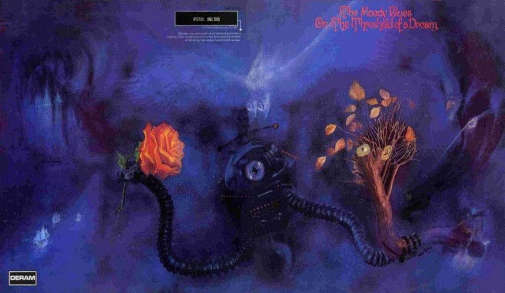 """The Moody Blues – """"On the Threshold of a Dream""""<br>Travanj – 1969."""