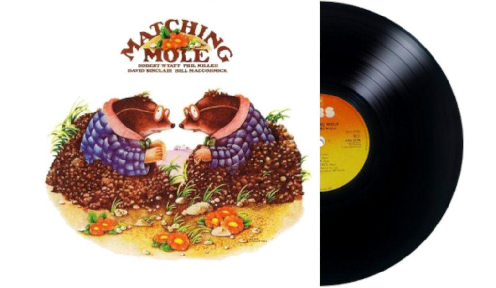 "Matching Mole – ""Matching Mole""<br>Travanj – 1972."