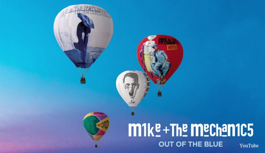 """Mike + The Mechanics – """"Out of the Blue""""<br>Travanj – 2019."""