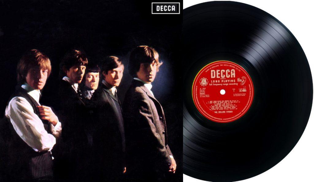"""Rolling Stones – """"Rolling Stones""""<br>Travanj – 1964."""