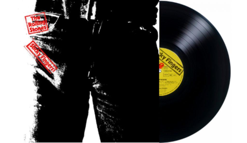 "The Rolling Stones – ""Sticky Fingers""<br>Travanj – 1971."