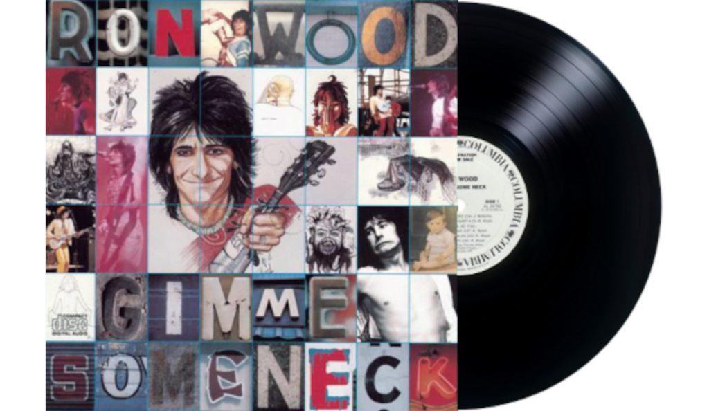 "Ron Wood – ""Gimme Some Neck""<br>Travanj – 1979."
