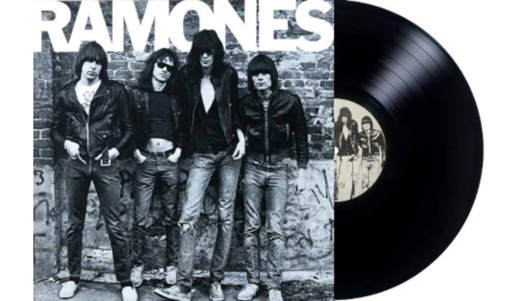 """Ramones – """"Ramones""""<br>Travanj – 1976."""