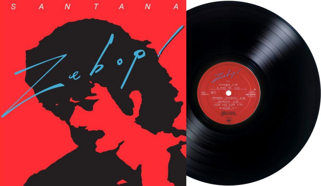 "Santana – ""Zebop!""<br>Travanj – 1981."