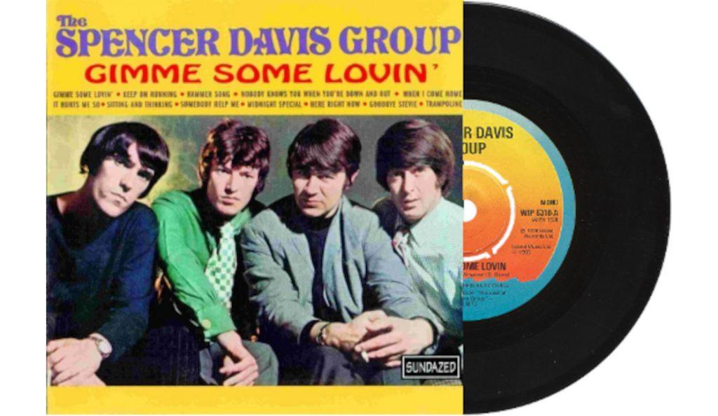 "The Spencer Davis Group – ""Gimme Some Lovin'""<br>Listopad – 1966."