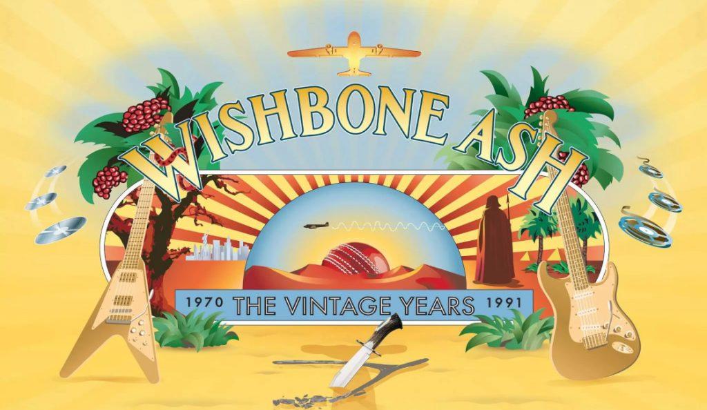 """Wishbone Ash – """"Vintage Years""""<br>Travanj – 2018."""