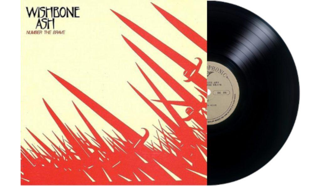 "Wishbone Ash – ""Number the Brave""<br>Travanj – 1981."