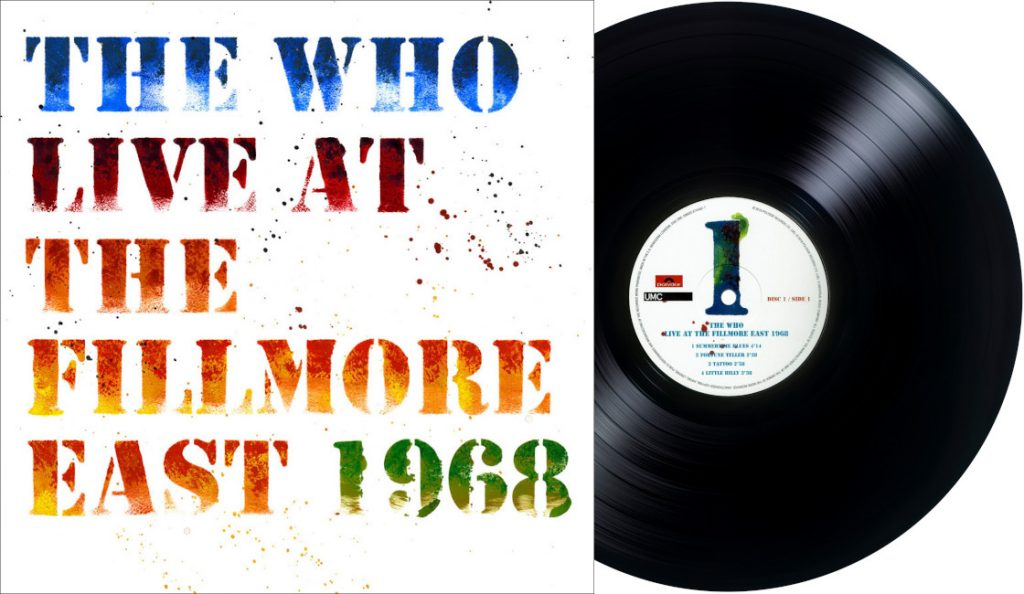 """The Who – """"Live at the Fillmore East 1968""""<br>Travanj – 2018."""