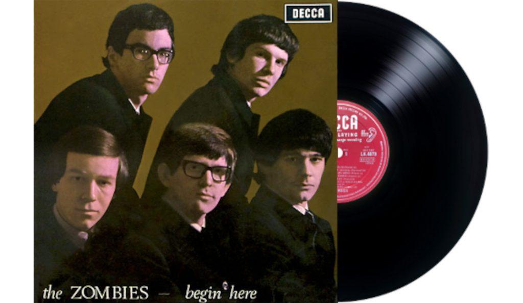 "The Zombies – ""Begin Here""<br>Travanj – 1965."