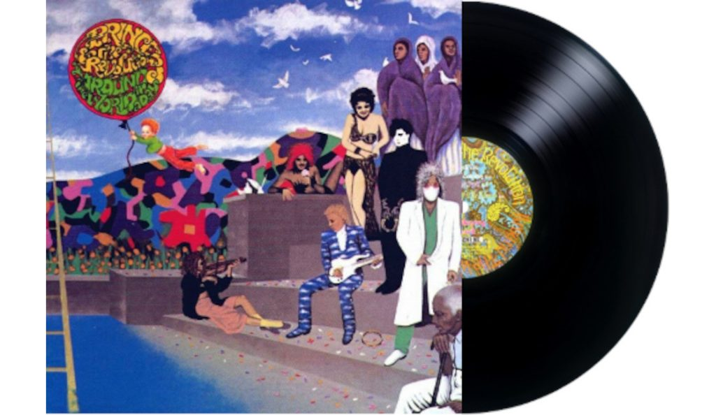 """Prince – """"Around the World in a Day""""<br>Travanj – 1985."""