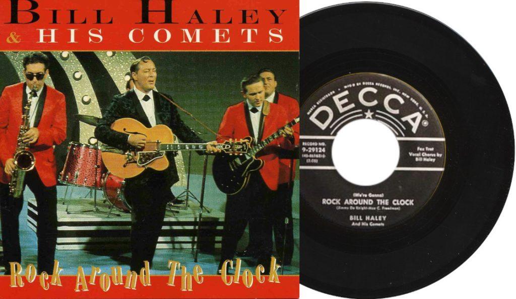 "Bill Haley & His Comets – ""Rock Around the Clock""<br>Svibanj – 1954."