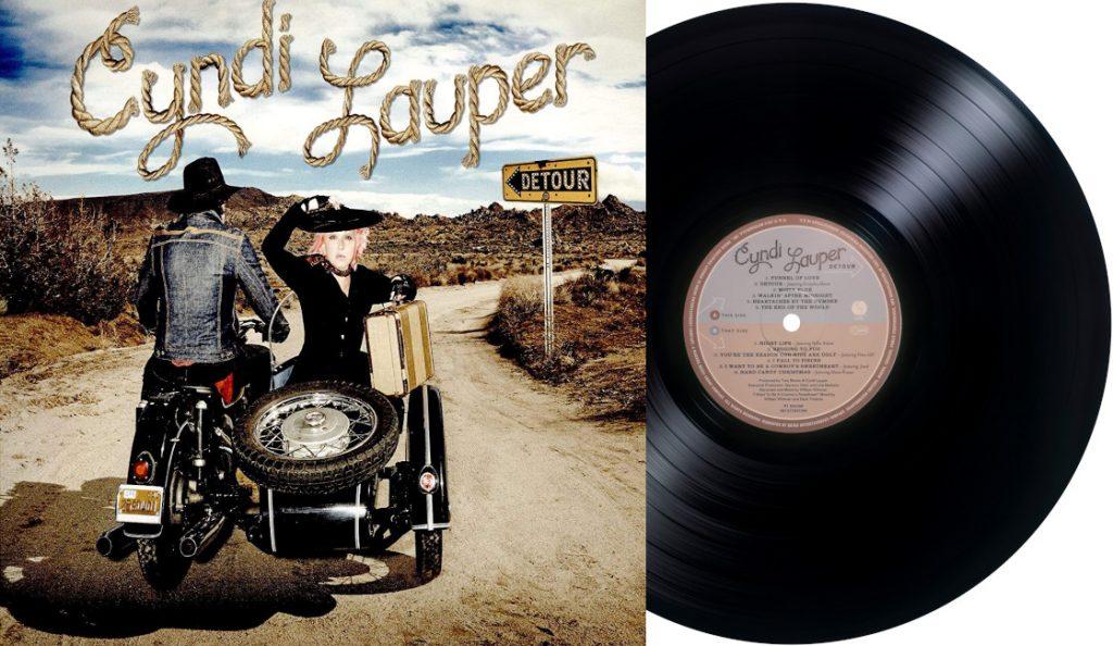"""Cyndi Lauper – """"Detour""""<br>Svibanj  – 2016."""