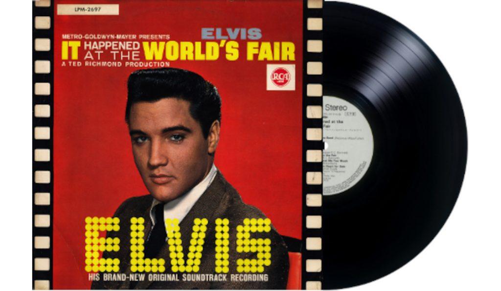 """Elvis Presley – """"It Happened at the World's Fair""""<br>Travanj – 1963."""