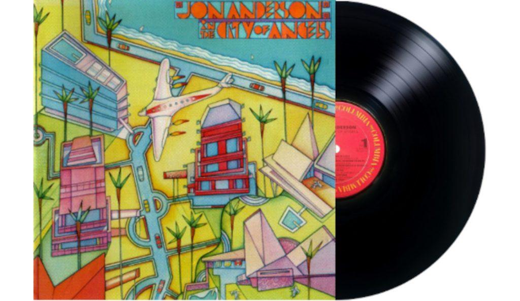 "Jon Anderson – ""In the City of Angels""<br>Svibanj – 1988."