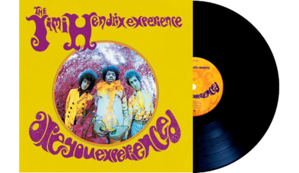"Jimi Hendrix Experience – ""Are You Experienced""<br>Svibanj – 1967."
