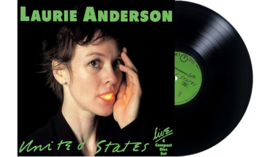 """Laurie Anderson – """"United States Live""""<br>Srpanj – 1984."""