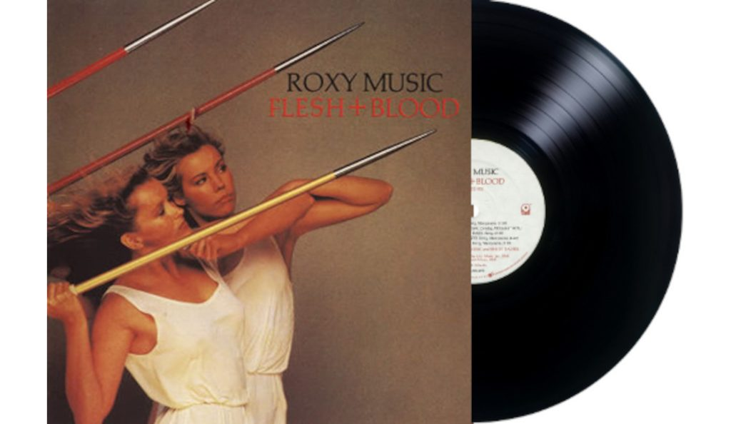 "Roxy Music – ""Flesh + Blood""<br>Svibanj – 1980."