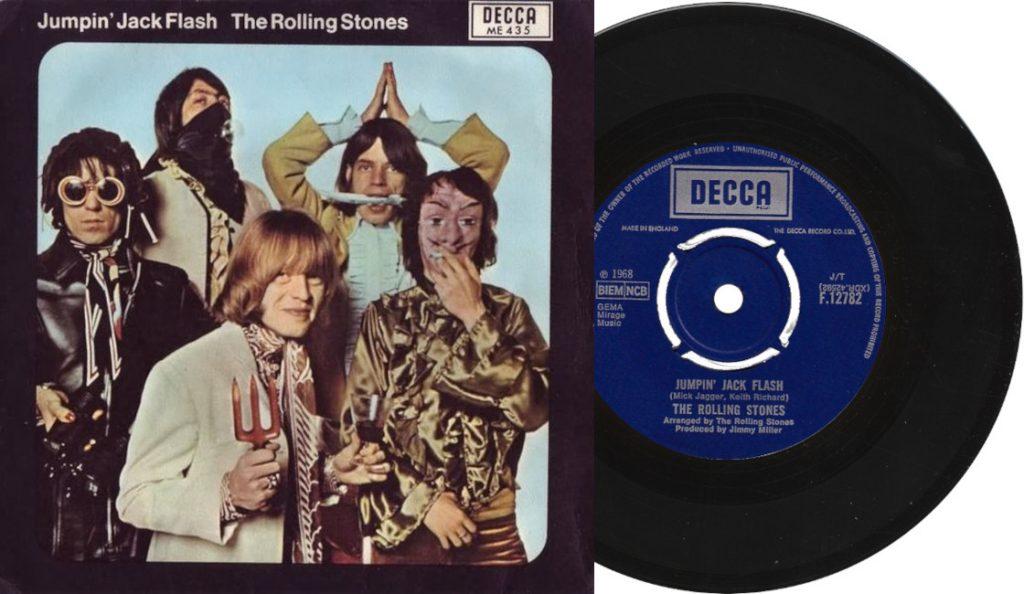 "The Rolling Stones – ""Jumpin' Jack Flash""<br>Svibanj – 1968."