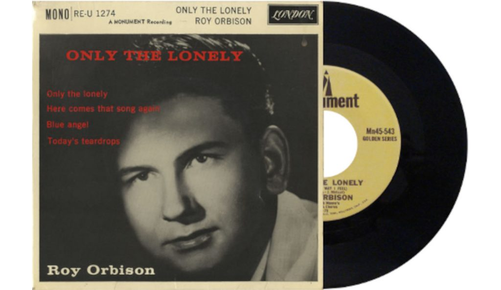 """Roy Orbinson – """"Only the Lonely"""" <br>Svibanj – 1960."""