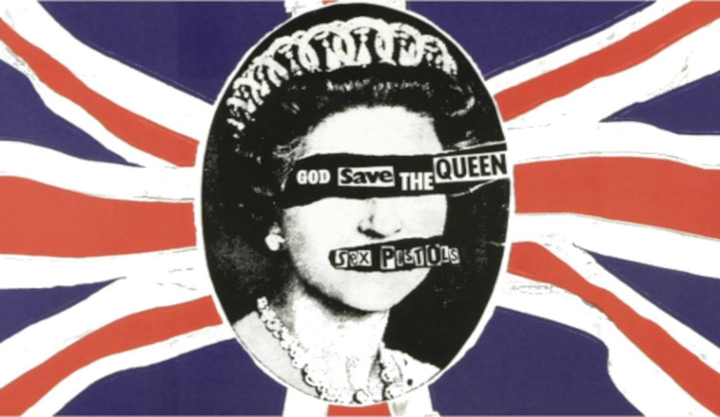 "The Sex Pistols – ""God Save The Queen""<br>Svibanj – 1977."