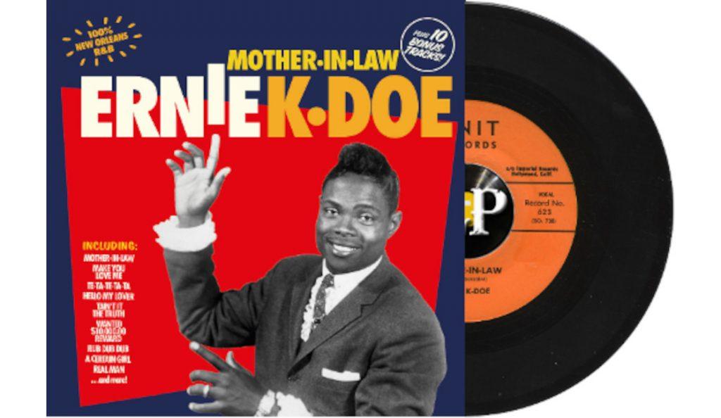 """Ernie K-Doe – """"Mother-In-Law""""<br>Svibanj – 1961."""