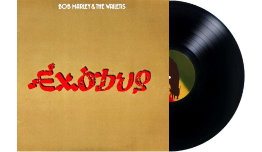 "Bob Marley & the Wailers – ""Exodus""<br>Lipanj – 1977."