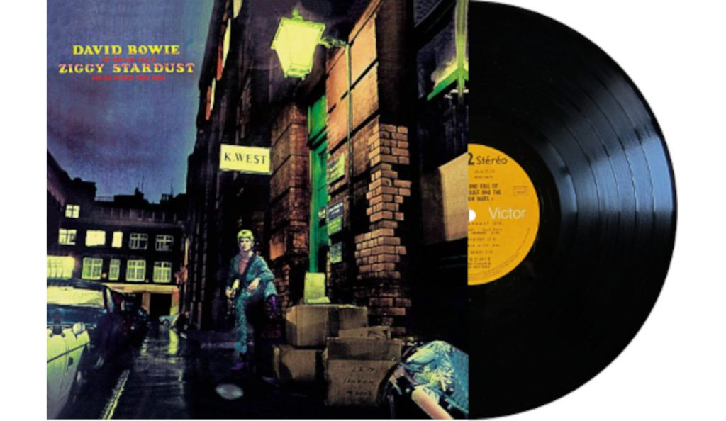 """David Bowie – """"The Rise and Fall of Ziggy Stardust and the Spiders from Mars""""<br>16. Lipnja – 1973."""