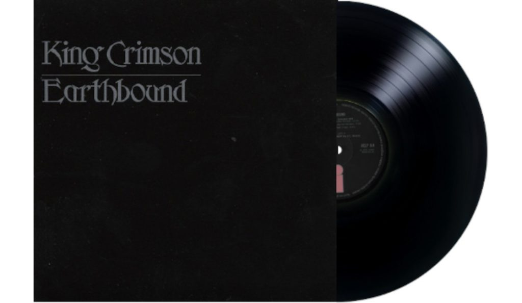 "King Crimson – ""Earthbound""<br>09. Lipnja – 1972."