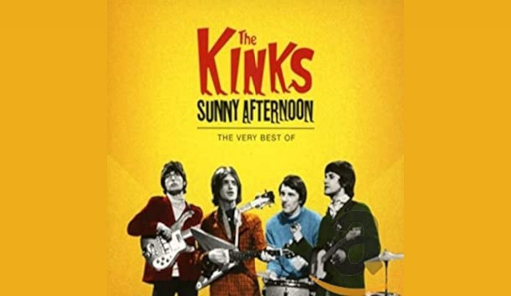 """The Kinks – """"Sunny Afternoon best of..""""<br>16. Lipnja – 2015."""