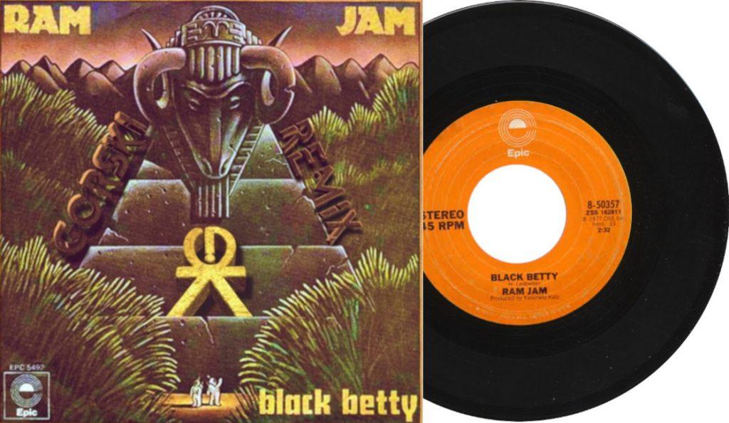 "Ram Jam – ""Black Betty""<br>17. Lipnja – 1977."