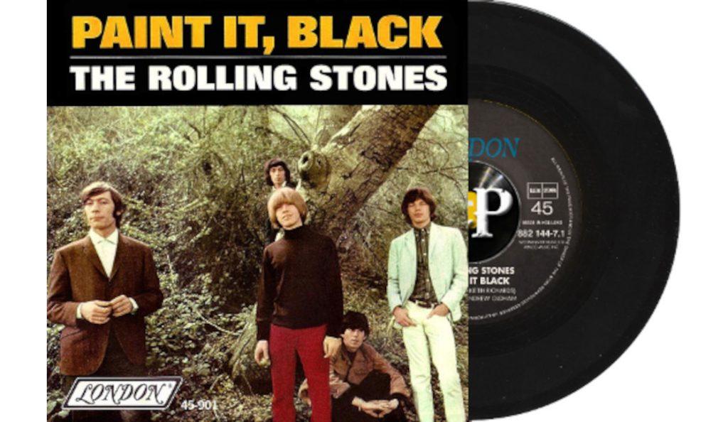 "The Rolling Stones – ""Paint it Black""<br>07. Svibnja – 1966."