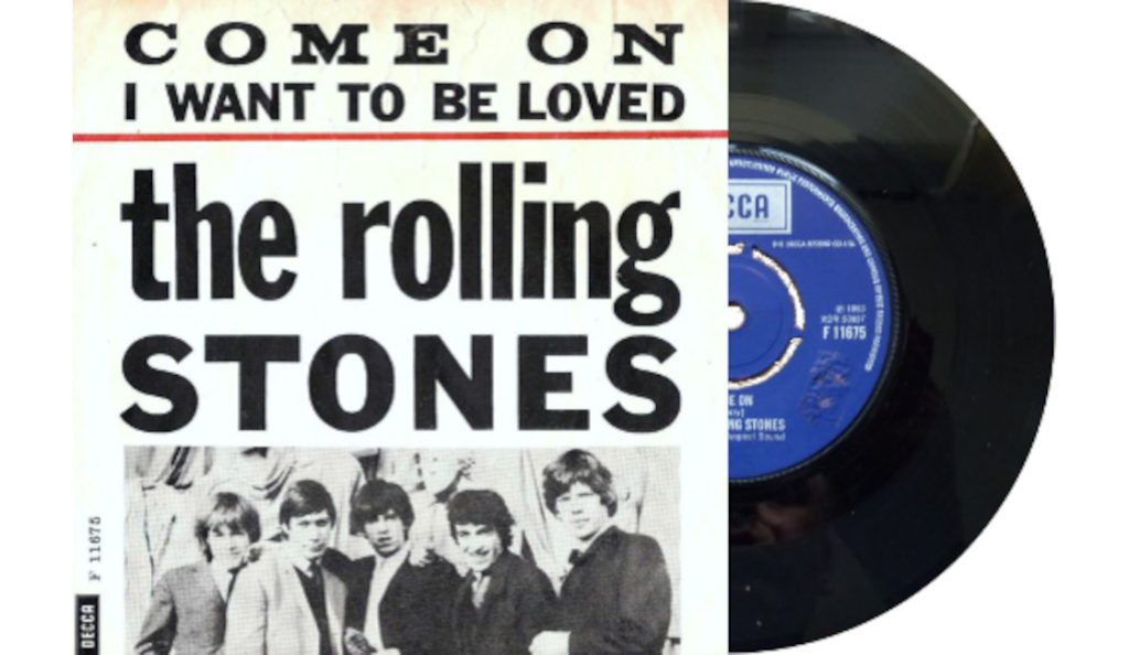 """The Rolling Stones – """"Come On""""<br>07. Lipnja – 1963."""