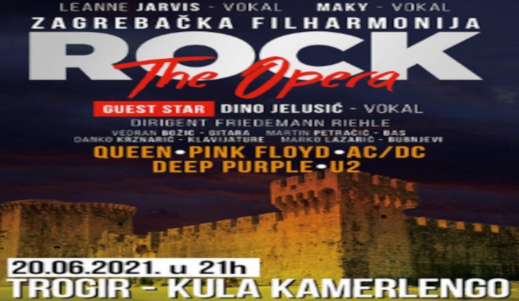 ROCK THE OPERA – Trogir, kula Kamerlengo<br>20. Lipnja-2021.