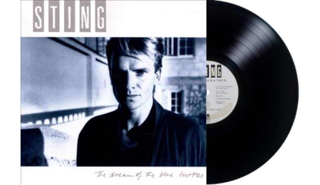 """Sting – """"The Dream of the Blue Turtles""""<br>Lipanj – 1985."""