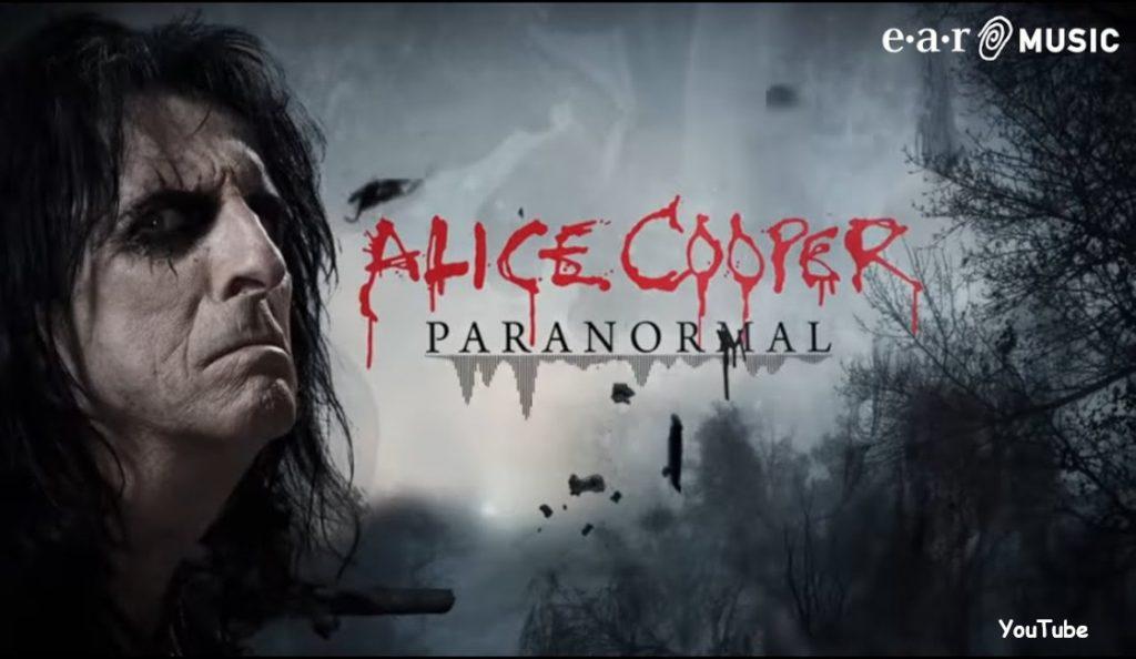 "Alice Cooper – ""Paranormal""<br>28. Srpnja – 2017."