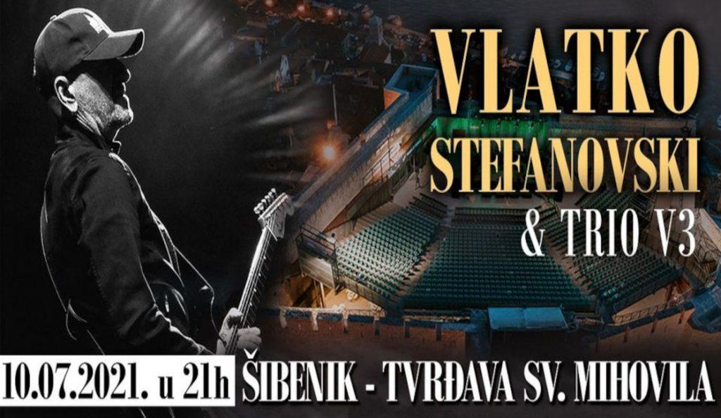 Vlatko Stefanovski  i V3 trio – Šibenik, tvrđava sv. Mihovila<br>10. Srpnja – 2021.