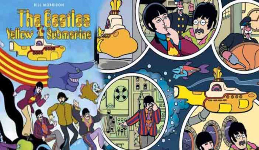 """Yellow Submarine"" kao strip!<br>28. Kolovoza – 2018."