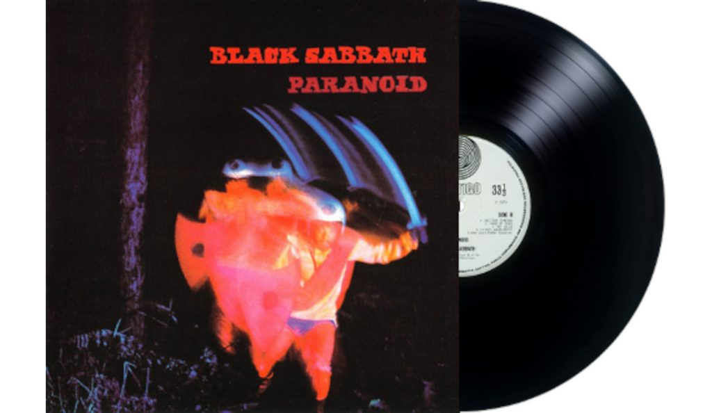 "Black Sabbath – ""Paranoid""<br>18. Rujna – 1970."