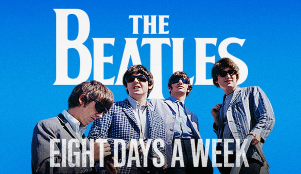 """""""The Beatles: Eight Days a Week – The Touring Years""""<br>15. Rujna – 2016."""