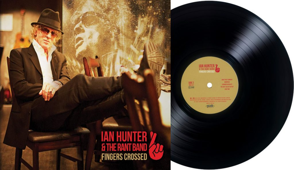 "Ian Hunter – ""Fingers Crossed""<br>16. Rujna – 2016."