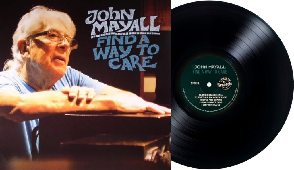 """John Mayall – """"Find a Way to Care""""<br>04. Rujna – 2015."""