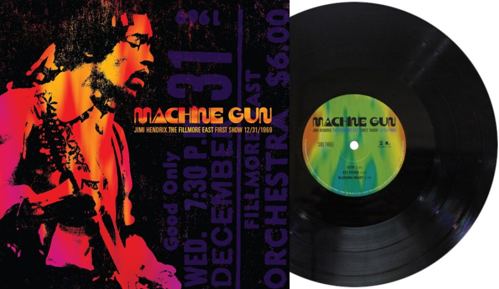 "Jimi Hendrix – ""Machine Gun: The Fillmore East First Show""<br>30. Rujna – 2016."